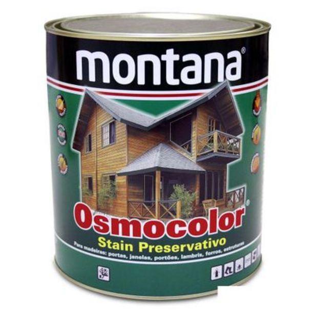 Oferta de Stain Osmocolor 1/4 litros imbuia Montana por R$64,9
