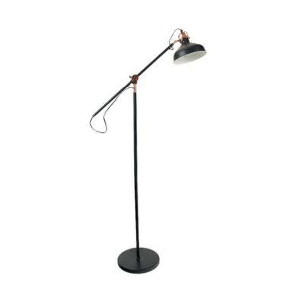 Oferta de Luminária Fortec de Piso Preto E27 ECO1414 por R$246,9