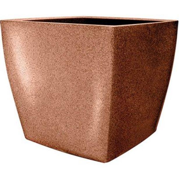 Oferta de Vaso Quadrado Nutriplast 40 Ferrugem Classic por R$144,9