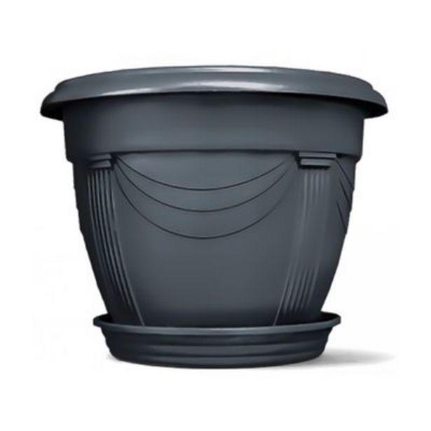 Oferta de Vaso Nutriplan Romano N 3 Preto por R$30,9