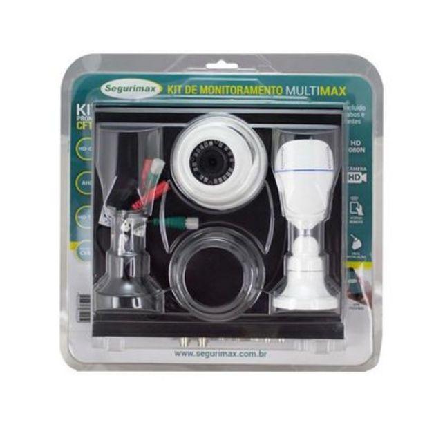 Oferta de Kit de Monitoramento Segurimax 2 Câmeras 4 Canais HD por R$569,9