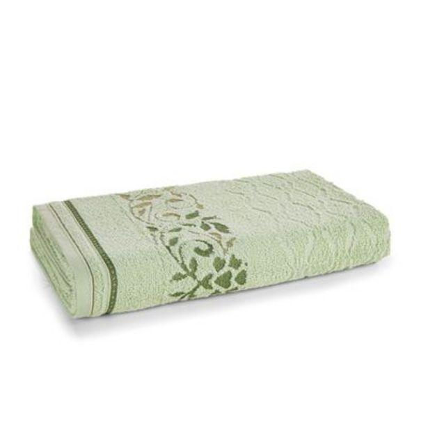 Oferta de Toalha de Banho Karsten Gaia Chá Verde por R$31,9