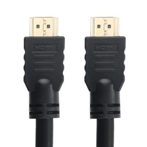 Oferta de Cabo HDMI Multilaser WI358 1.4 15 Metros por R$129,9
