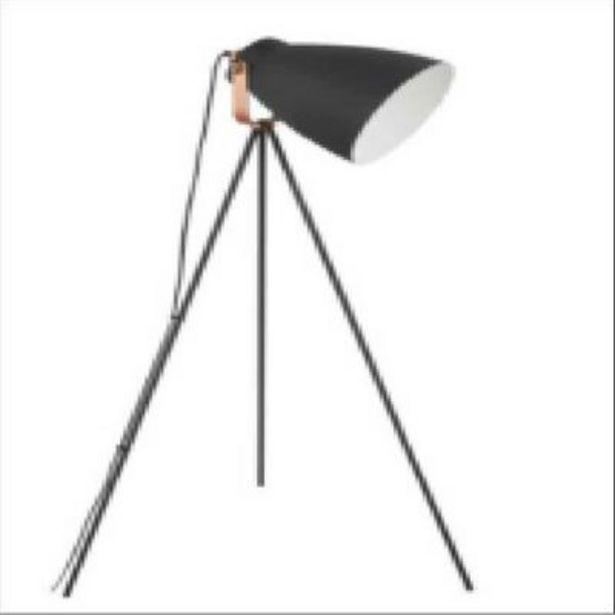 Oferta de Luminária Fortec de Piso Modern Preto por R$168,9