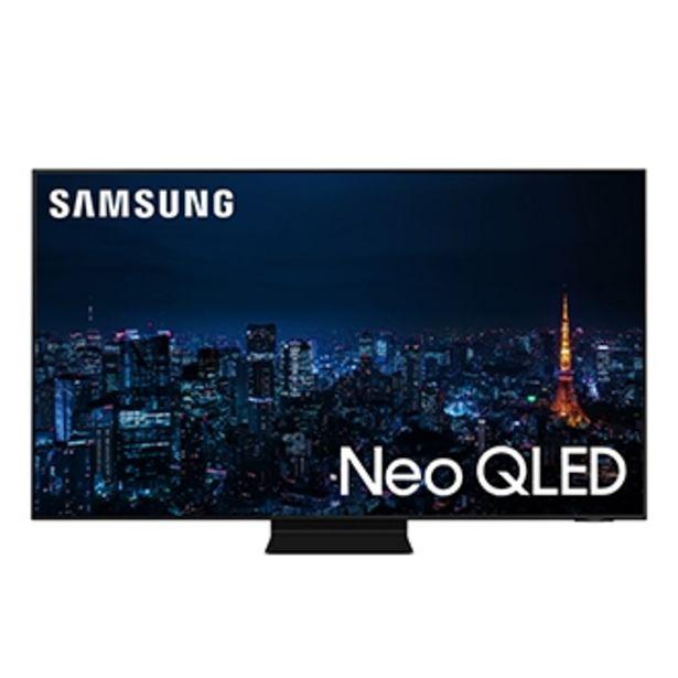 """Oferta de Samsung Smart TV 65"""" Neo QLED 4K 65QN90A, Mini Led, Painel 120hz, Processador IA, Som em Movimento Plus, Tela sem limites, Design slim, Alexa built in por R$14999"""