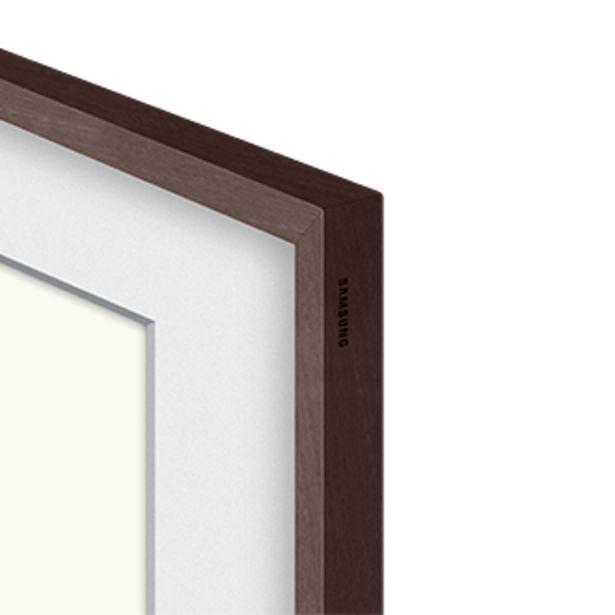 """Oferta de Moldura para Smart TV 43"""" The Frame 2021 cor marrom por R$399"""