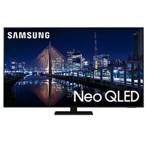 """Oferta de Samsung Smart TV 65"""" Neo QLED 4K 65QN85A, Mini Led, Painel 120hz, Processador IA, Som em Movimento, Tela sem limites, Design slim, Alexa built in por R$11999"""