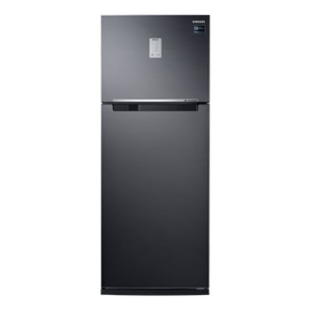 Oferta de Geladeira Samsung Evolution RT46 com POWERvolt Inverter Duplex 460L Black Inox Look por R$4199