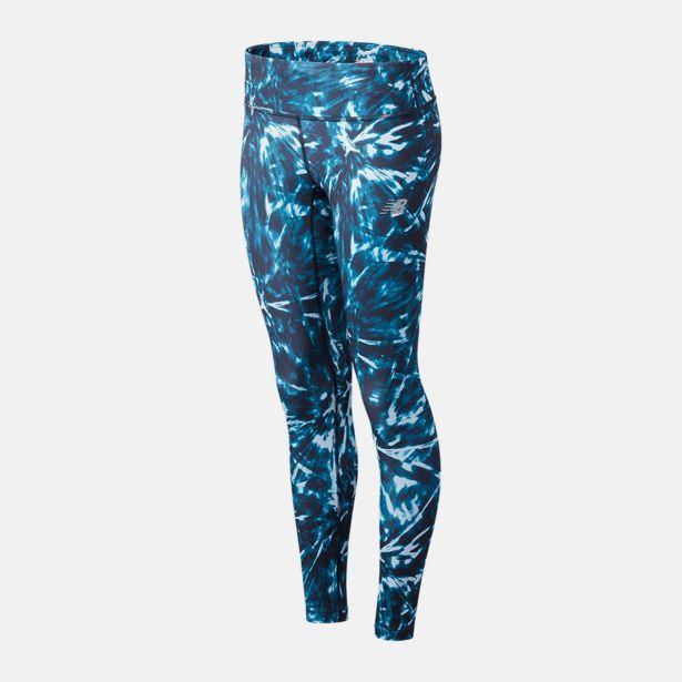 Oferta de Calça Legging Estampada New Balance Accelerate Feminina por R$179,99
