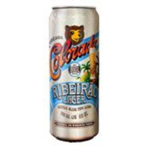 Oferta de Cerveja Lager Ribeirão Colorado Lata 410ml por R$5,99