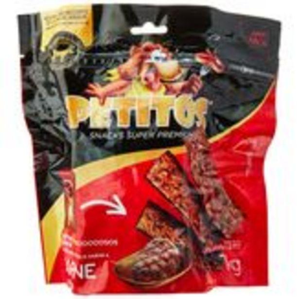 Oferta de Bifinho Petitos Sabor Carne Pacote 1kg por R$29,99