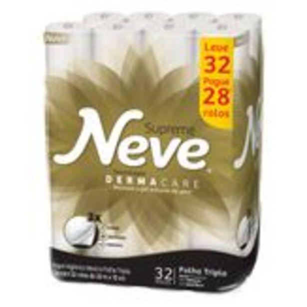 Oferta de Papel Higiênico Folha Tripla Neutro Neve Pacote Leve 32 Pague 28 Unidades por R$39,6
