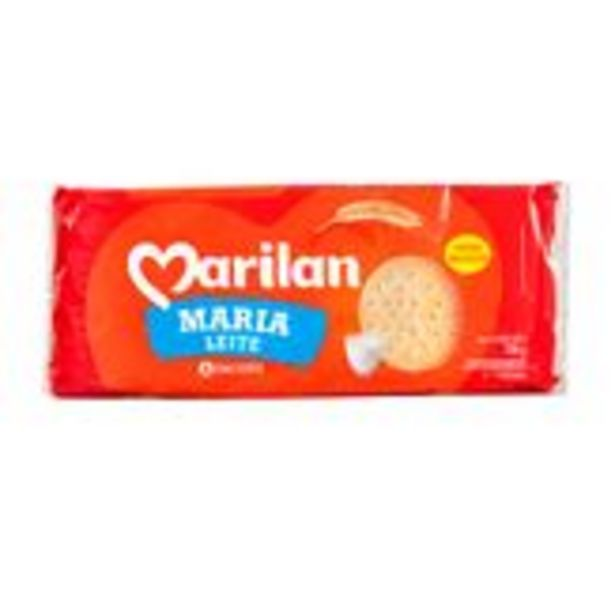 Oferta de Biscoito Maria Leite Marilan Pacote 700g por R$7,99