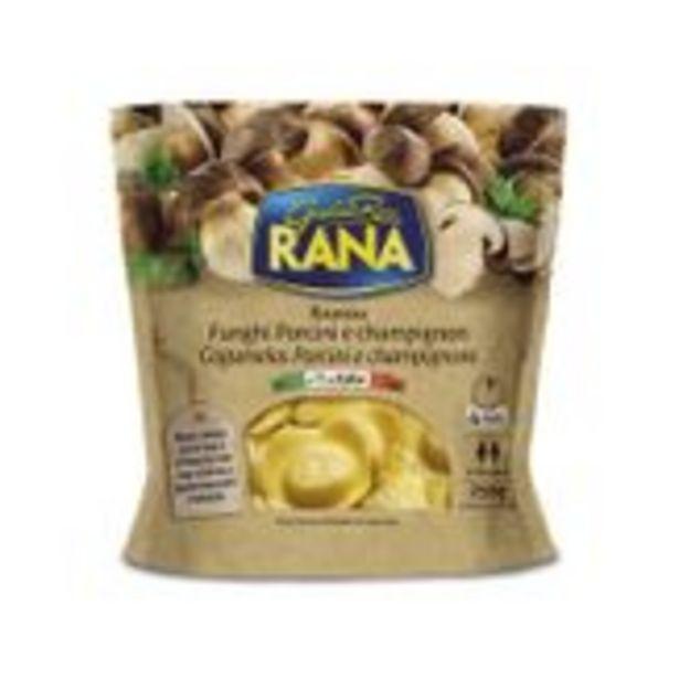 Oferta de Ravióli Cogumelo Porcini e Champignon Rana Sachê 250g por R$28,9
