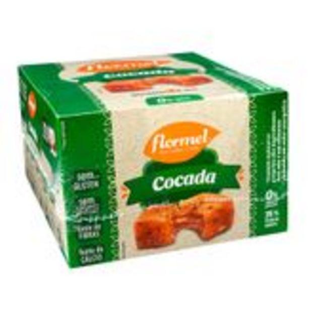 Oferta de Cocada Zero Flormel Caixa com 24 Unidades 25g Cada por R$56,98
