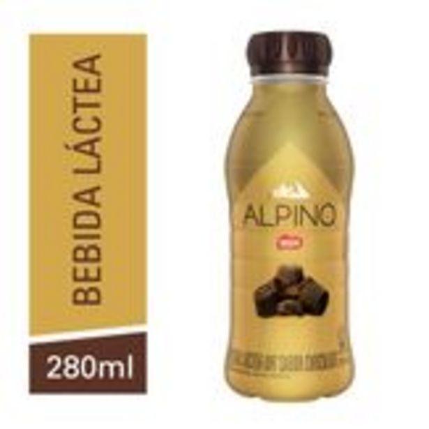 Oferta de Bebida Láctea Chocolate Alpino Nestlé Garrafa 6 Unidades 280ml Cada por R$24,89