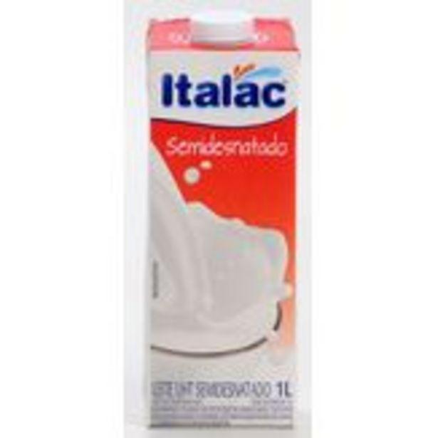 Oferta de Leite Semidesnatado Italac Pack com 12 Unidades 1l Cada por R$45,68