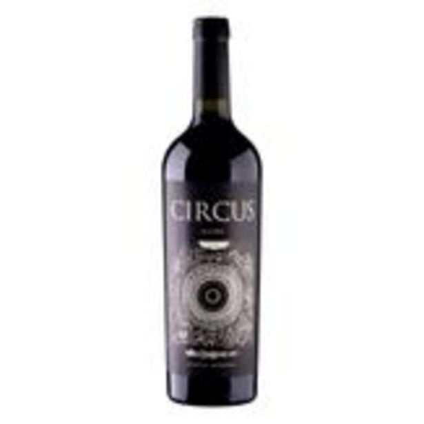 Oferta de Vinho Tinto Seco Argentino Circus Malbec Garrafa 750ml por R$59,24