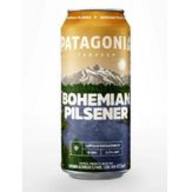 Oferta de Cerveja Patagonia Bohemian Pilsener Lata 473ml por R$5,99