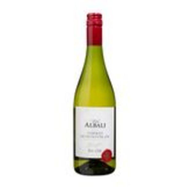 Oferta de Vinho Albali Sauvignon Blanc Garrafa 750ml por R$39,99