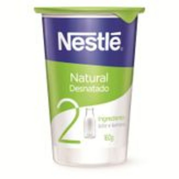 Oferta de Iogurte Natural Nestlé Copo 160g por R$2,59