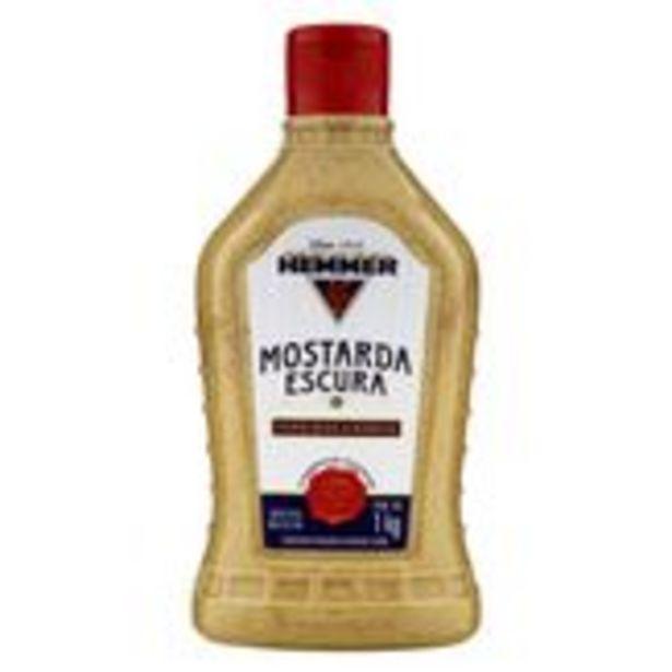 Oferta de Mostarda Escura Holandesa Hemmer Squeeze 1kg por R$10,38