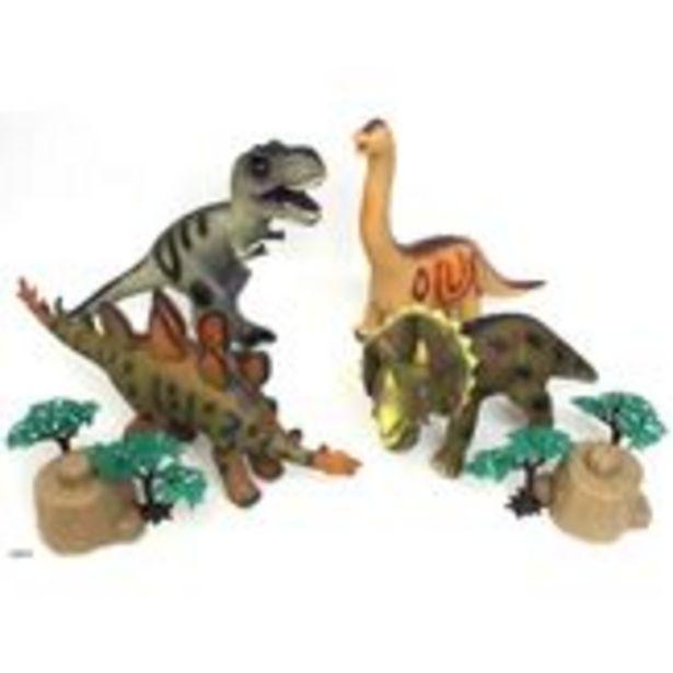 Oferta de Conjunto Dinossauros Savage Caixa 4 Unidades por R$448