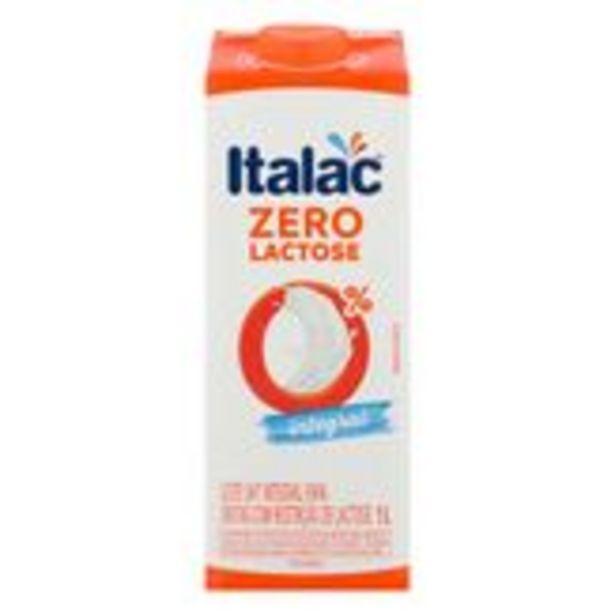 Oferta de Leite Integral Zero Lactose Italac Caixa 1l por R$4,99