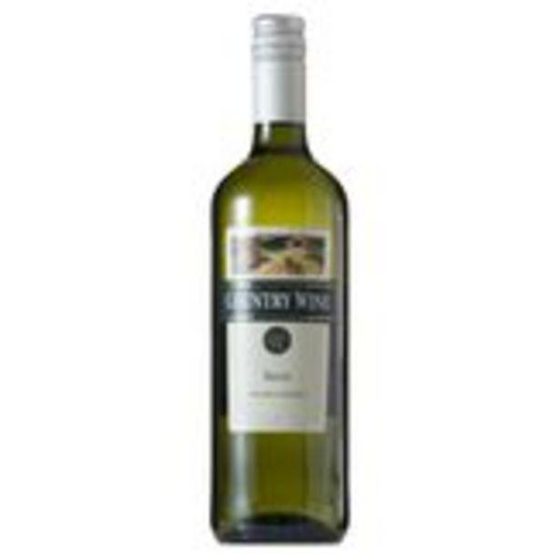 Oferta de Vinho Branco Brasileiro Country Wine 750ml por R$10,59