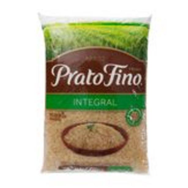 Oferta de Arroz Integral Prato Fino Pacote 2Kg por R$9,79
