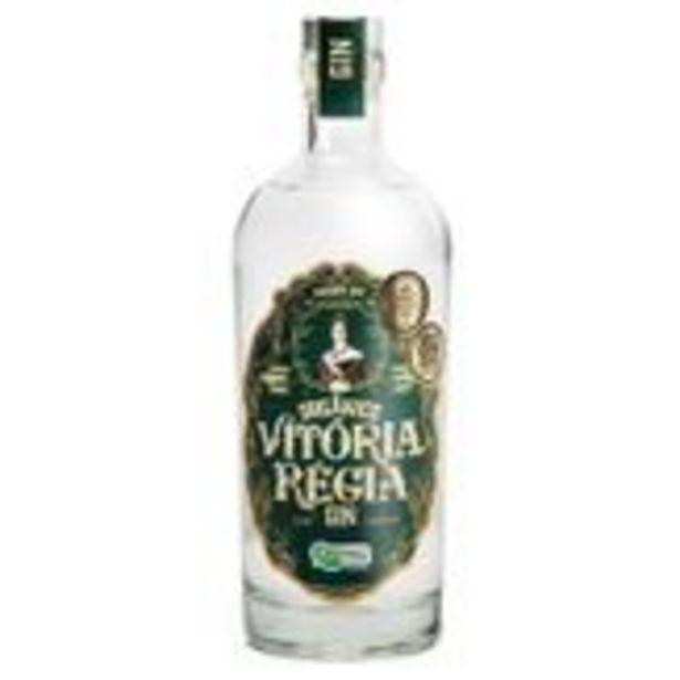 Oferta de Gin Orgânico Vitória Régia 750ml por R$79,9