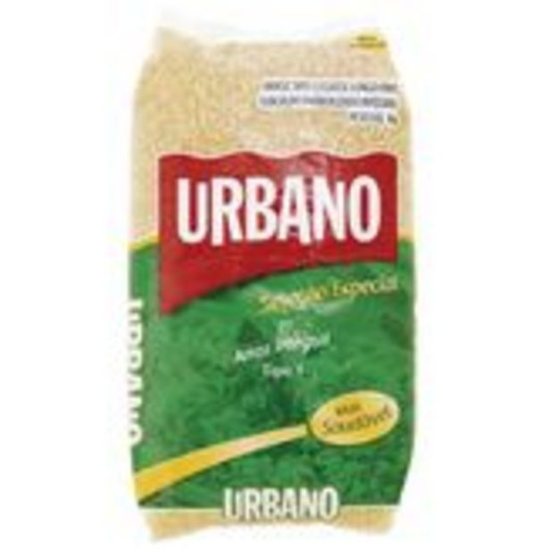 Oferta de Arroz Integral Urbano 1kg por R$5,29