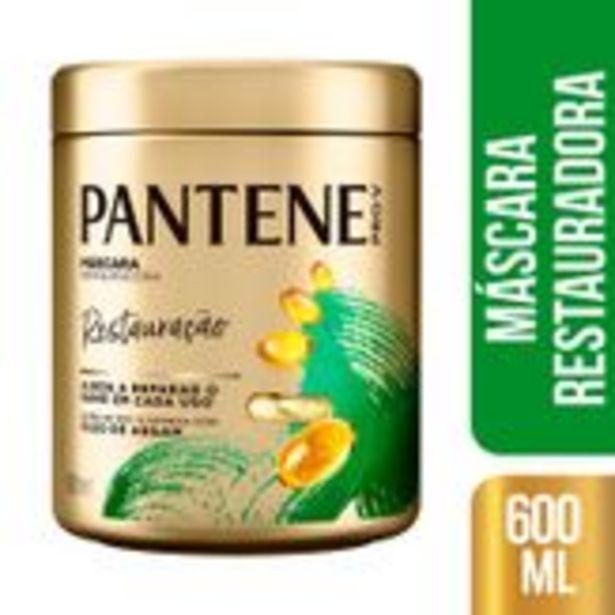 Oferta de Máscara de Tratamento Pantene Restauração Pote 600ml por R$25,99