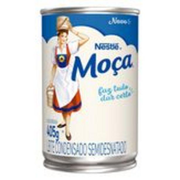 Oferta de Leite Condensado Semidesnatado Nestlé Moça 405g por R$4,97