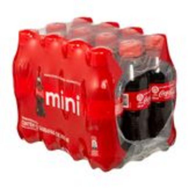 Oferta de Refrigerante Coca Cola Pack com 12 Garrafas 200ml Cada por R$18,99