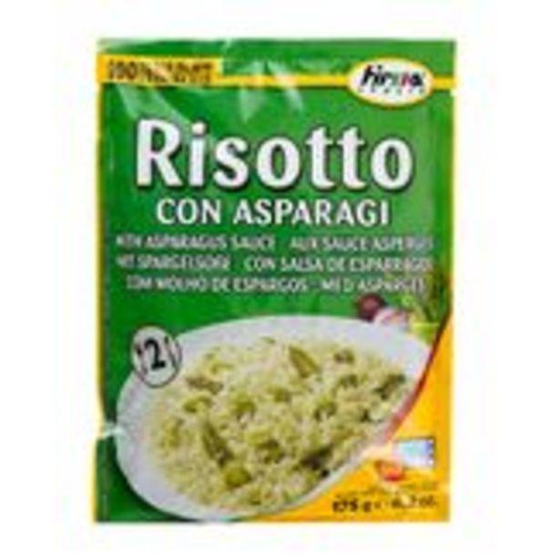 Oferta de Risotto Molho Aspargos Firma Italia  Sachê 175g por R$11,99