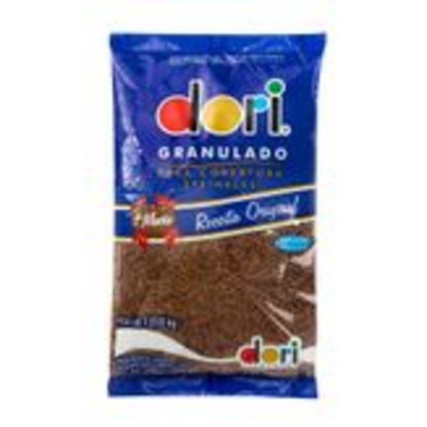 Oferta de Chocolate Granulado Dori Pacote 1,010kg por R$13,98