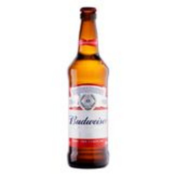 Oferta de Cerveja Lager Budweiser Garrafa 550ml por R$4,99