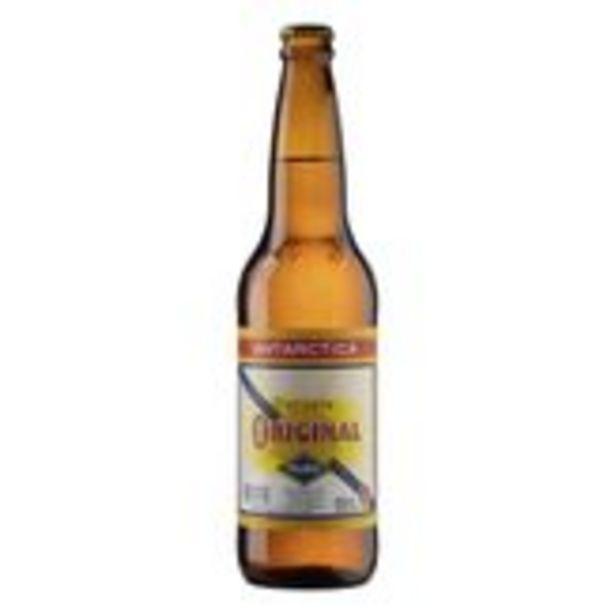 Oferta de Cerveja Pilsen Antarctica Original Garrafa 600ml por R$6,95