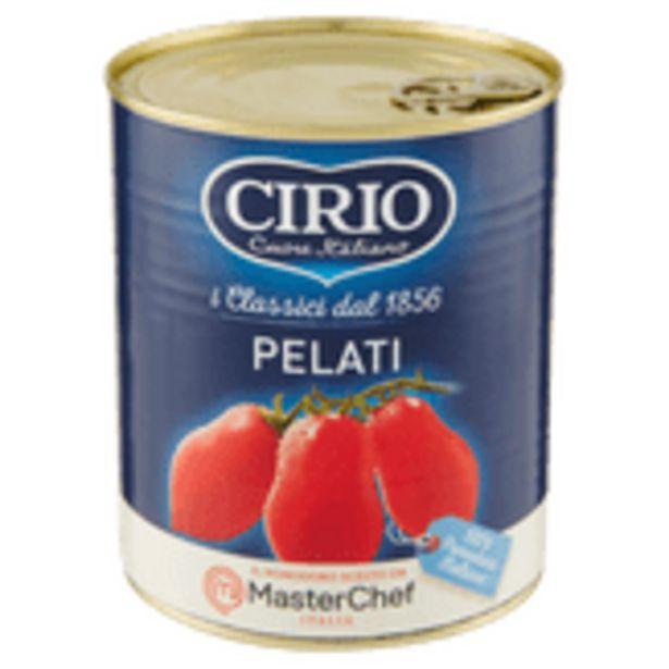 Oferta de Tomate Pelado Cirio Lata 480g por R$10,99