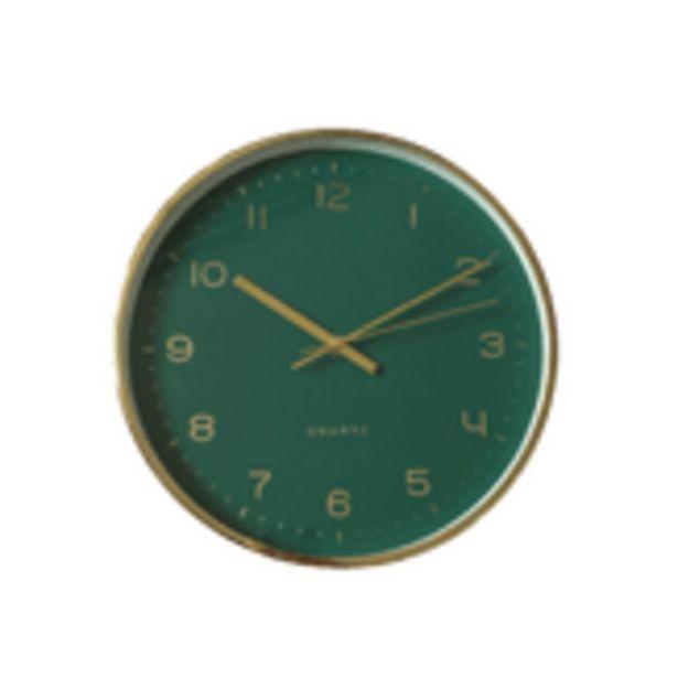 Oferta de Relógio de Parede Dalas Verde Member's Mark por R$88,85