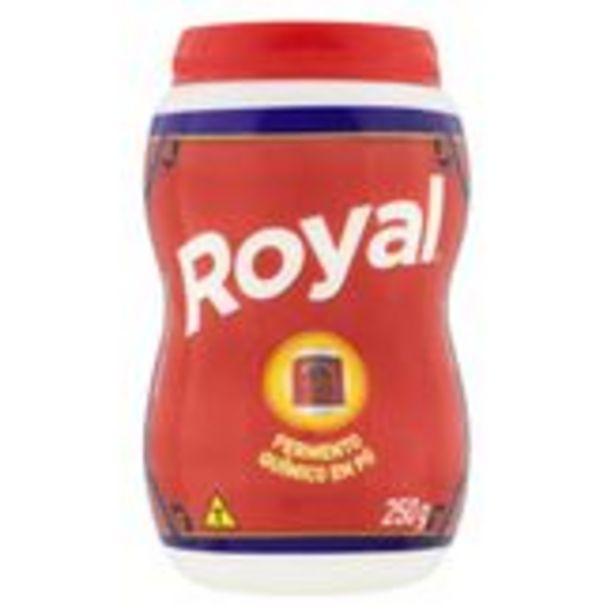 Oferta de Fermento Químico em Pó Royal Pote 250g por R$5,99
