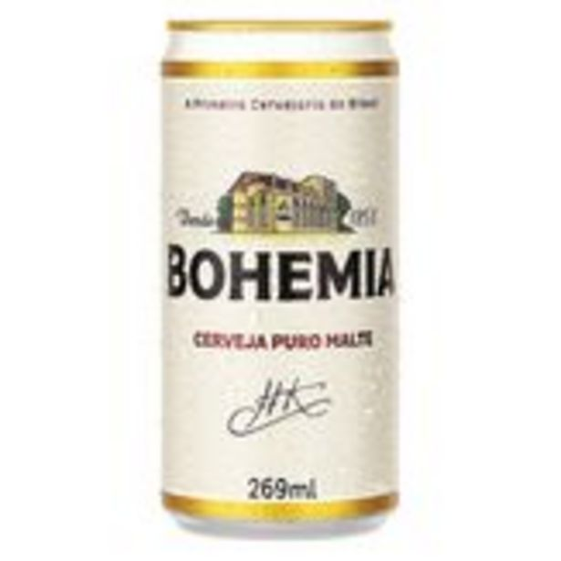 Oferta de Cerveja Puro Malte Bohemia Pack com 15 Unidades 269ml Cada por R$34,35