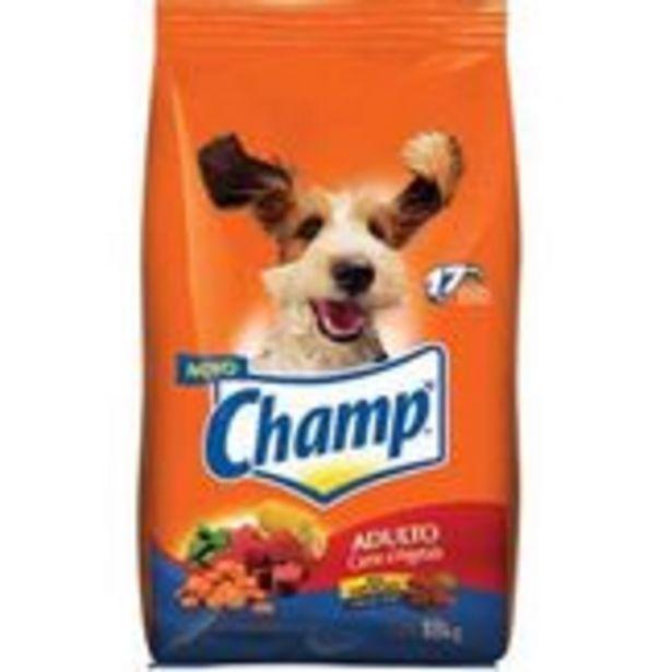 Oferta de Alimento para Cães Adultos Carne & Cereal Champ Pacote 18kg por R$116,59