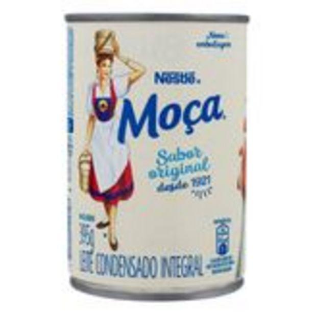 Oferta de Leite Condensado Integral Nestlé Moça Lata 395g por R$5,97