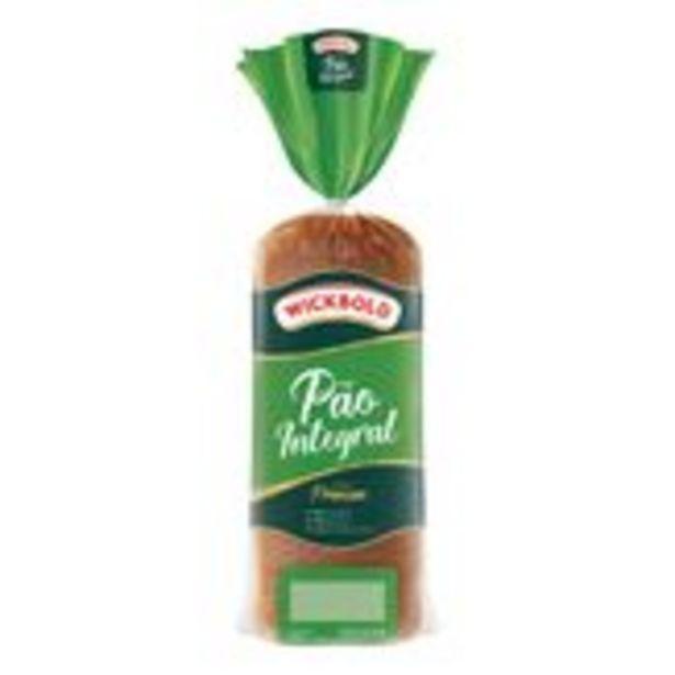 Oferta de Pão de Forma Integral Wickbold Premium Pacote 450g por R$5,75