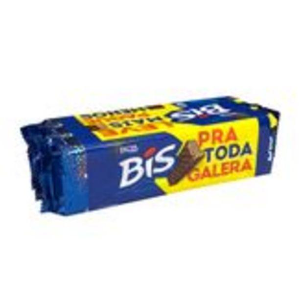 Oferta de Chocolate ao Leite Bis Lacta Pack 3 Unidades 126g Cada por R$13,98
