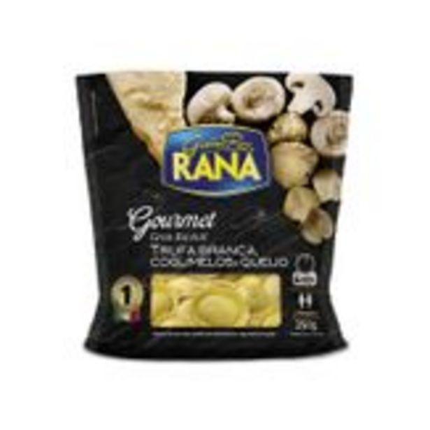 Oferta de Gran Ravióli Recheio Trufa Branca, Cogumelos e Queijo Rana Gourmet Sachê 250g por R$31,9