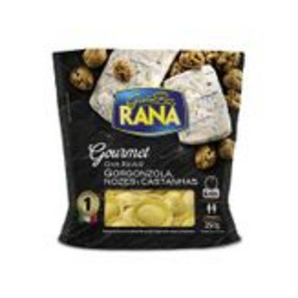 Oferta de Gran Ravióli Recheio Gorgonzola, Nozes e Castanhas Rana Gourmet Sachê 250g por R$31,9
