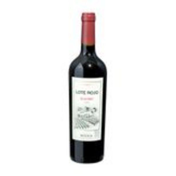 Oferta de Vinho Tinto Argentino Norton Malbec Lote Rojo 750ml por R$20,92